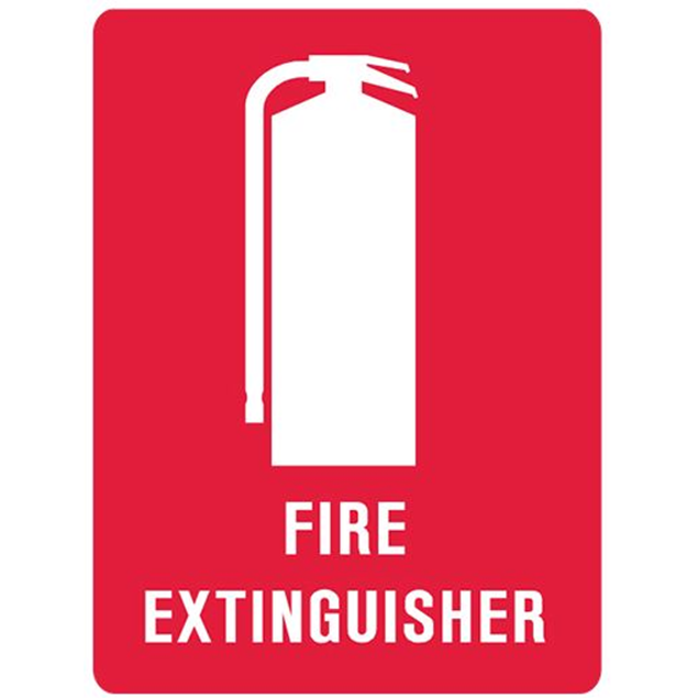 Picture of Fire Extinguisher Location Plastic Sign 220 x 150mm