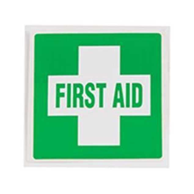 Picture of First Aid Sticker 60mm x 60mm
