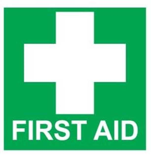 Picture of First Aid Sticker 140mm x 120mm