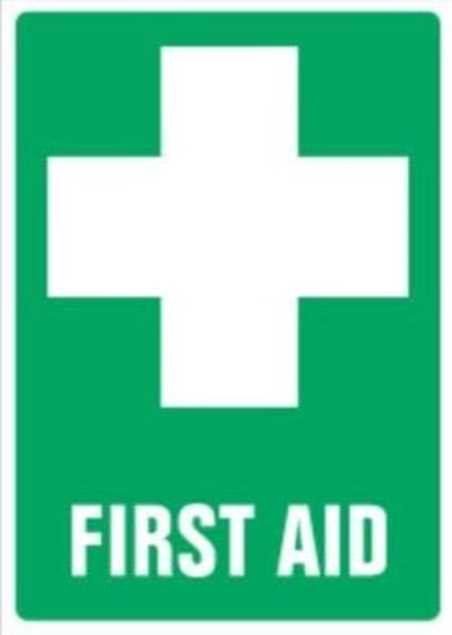 Picture of First Aid Sticker 90mm x 55mm
