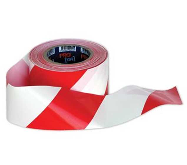 Picture of Barricade Tape Red/White 100mt roll