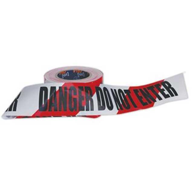 Picture of Barricade Tape Danger Do Not Enter 100mt roll
