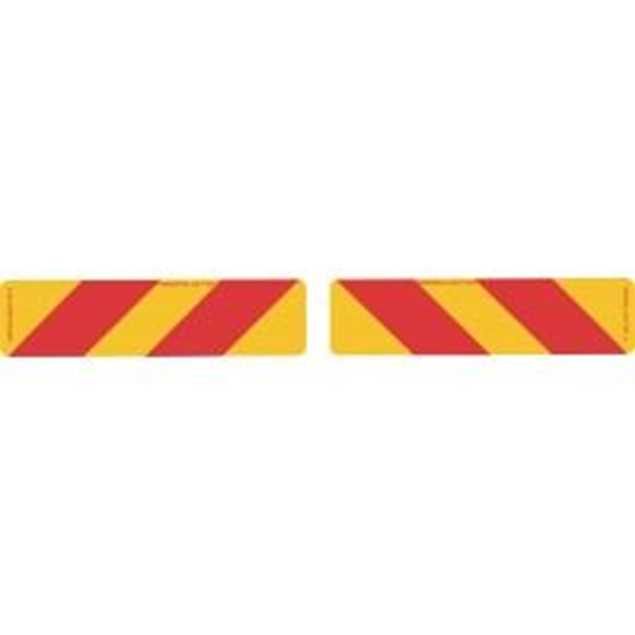 Picture of Truck Rear Marker Strip 400x100mm Sticker