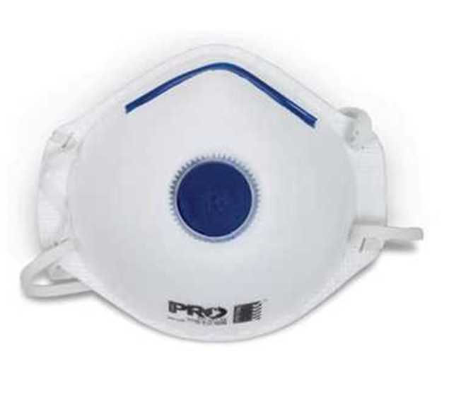 Picture of ProChoice P2 with Valve Disposable Respirator 3pk