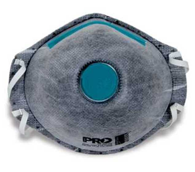 Picture of ProChoice P2 with Valve and Active Carbon Filter Disposable Respirator 3pk