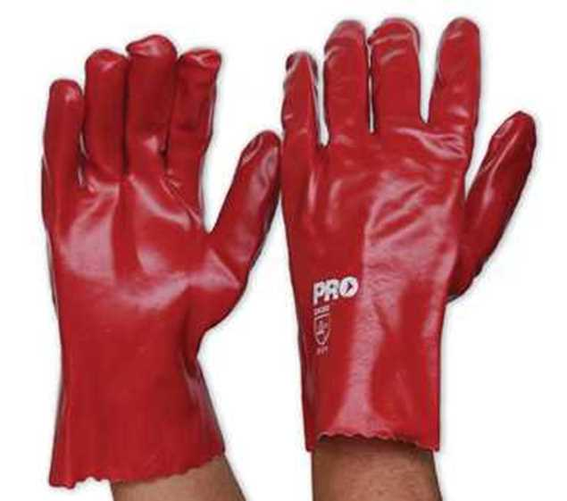 Picture of ProChoice Red PVC Glove Short 27cm