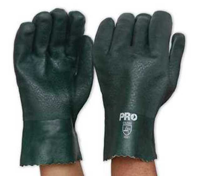 Picture of ProChoice Green PVC Glove Short 27cm