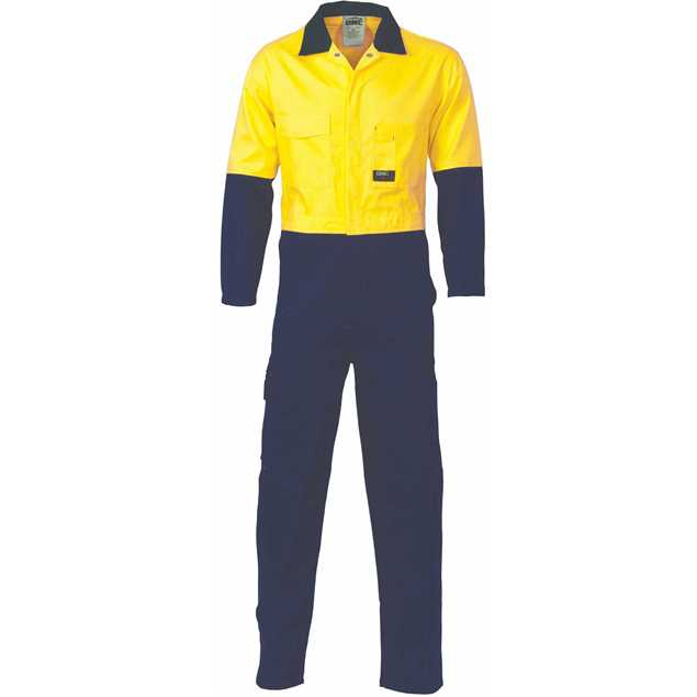 Picture of DNC Hi Vis Two Tone Cotton Coverall