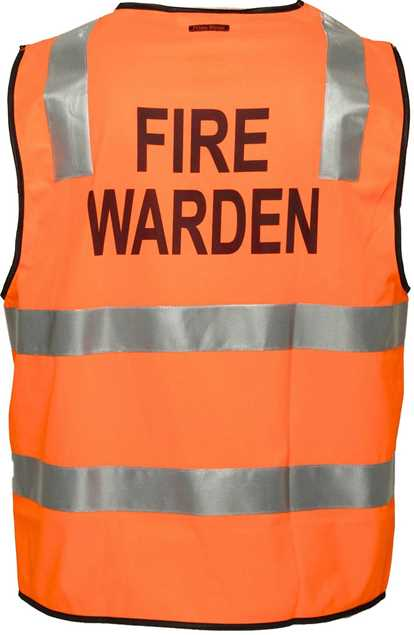 Picture of Primemover/Portwest FIRE WARDEN Day/Night Vest