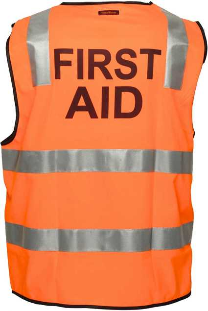 Picture of Primemover/Portwest FIRST AID Day/Night Vest
