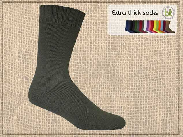 Picture of Bamboo Textiles Extra Thick Bamboo Work Socks