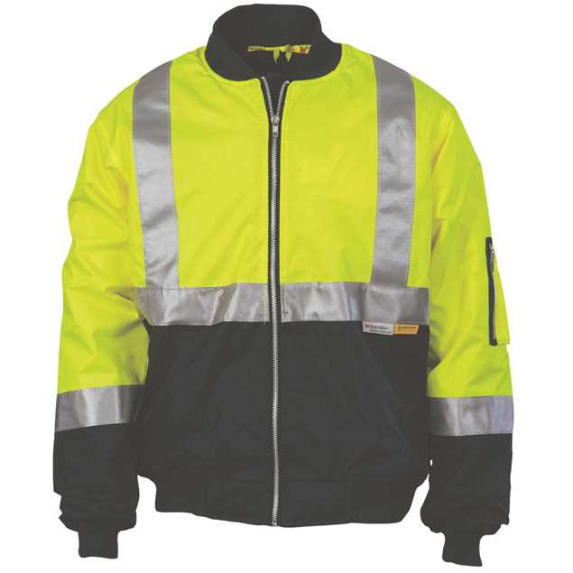 Picture of DNC Hi Vis Two Tone Flying Jacket with 3M R/Tape