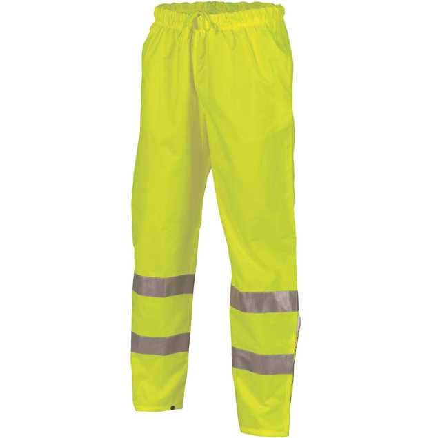 Picture of DNC Hi Vis Day/Night Rain Pants with 3M R/Tape