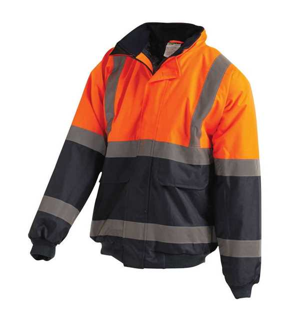 Picture of Workit Hi Vis 2 Tone Wet Weather Bomber Jacket