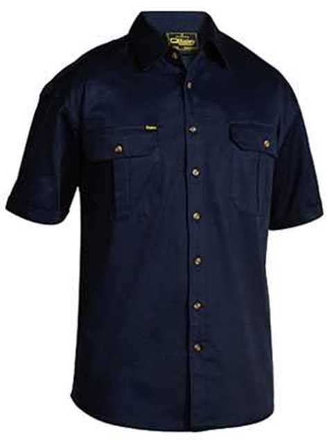 Picture of Bisley Cotton Drill Short Sleeve Shirt