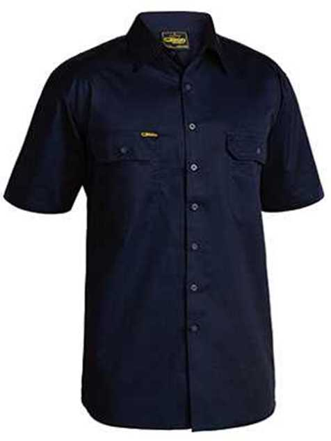 Picture of Bisley Cool Lightweight Drill Short Sleeve Shirt