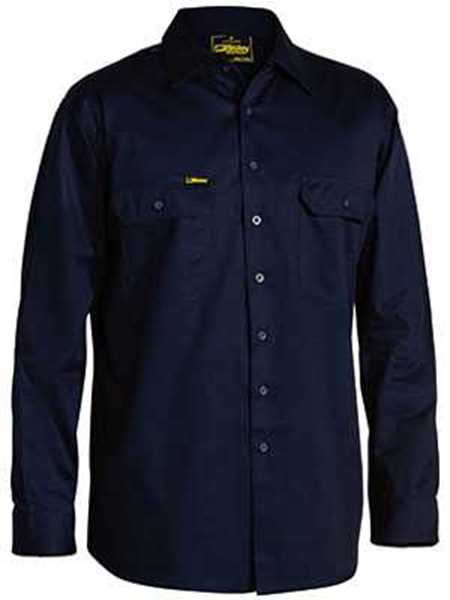 Picture of Bisley Cool Lightweight Drill Long Sleeve Shirt
