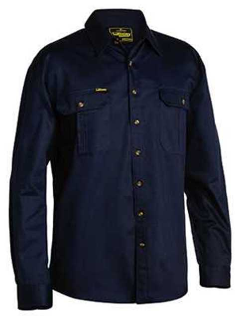 Picture of Bisley Cotton Drill Long Sleeve Shirt