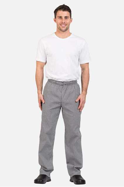 Picture of Pro Chef Traditional Check Drawstring Pants
