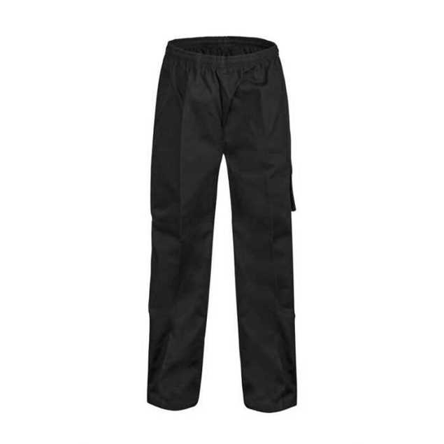 Picture of Chefs Craft Unisex Drawstring Cargo Pants - Black