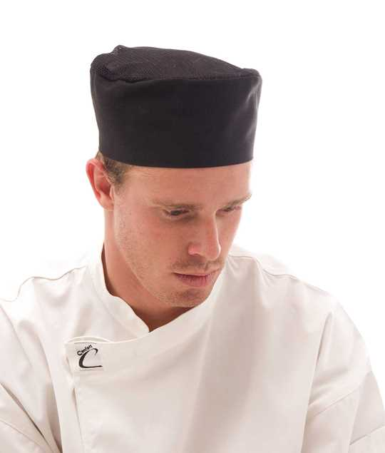 Picture of DNC Cool-Breeze Flat Top Air Flow Chef Cap
