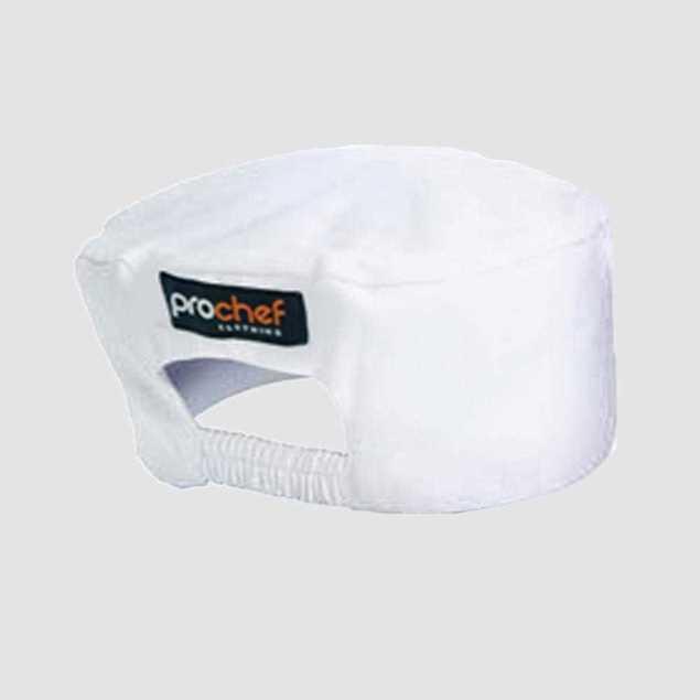Picture of Pro Chef Box Hat - White