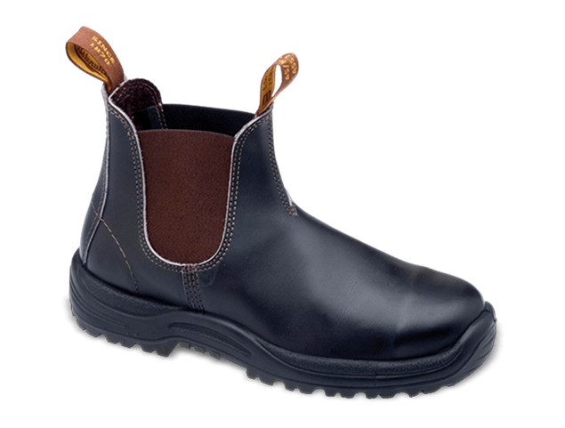 Picture of Blundstone Style 172 Elastic Sided Stout Brown Safety Boot