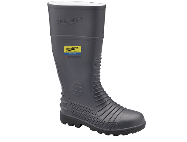 Picture of Blundstone Style 025 Grey PVC/Nitrile Gumboot