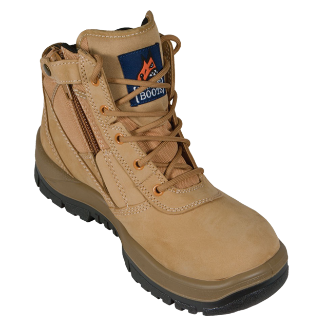 Picture of Mongrel P Series Wheat Zip Sider Safety Boot 261050