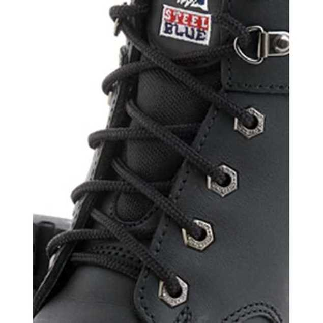 Picture of Steel Blue 140cm Nylon Boot Laces