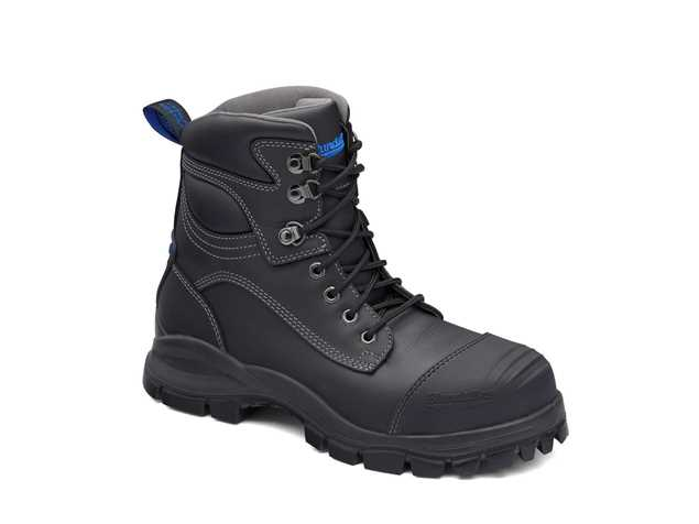 Picture of Blundstone Style 991 Lace Up Black Leather Safety Boot