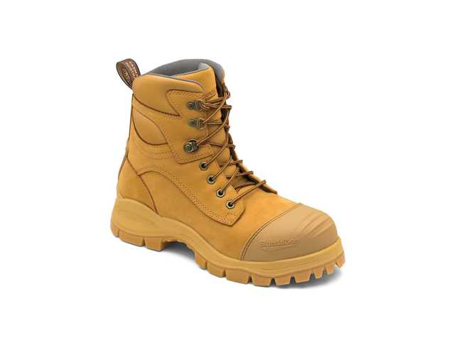 Picture of Blundstone Style 998 Lace Up Wheat Leather Safety Boot