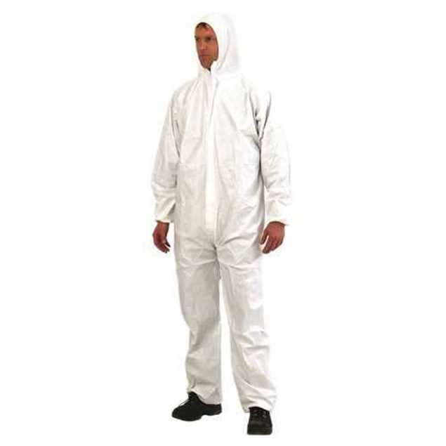 Picture of Provek Disposable Coveralls White